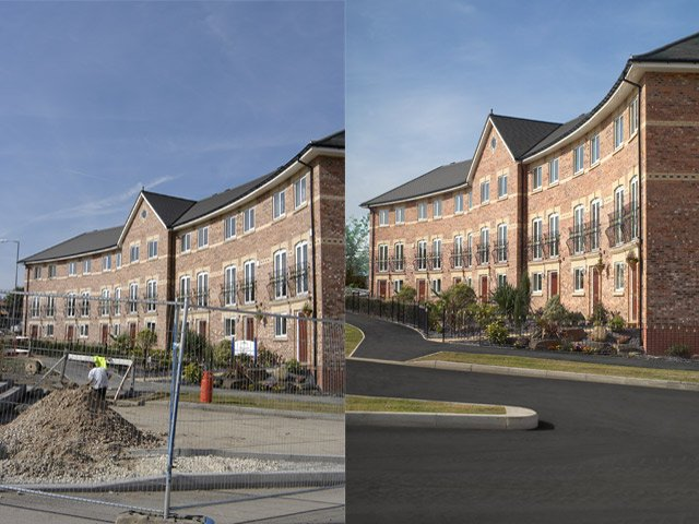 Jones Homes Before And After
