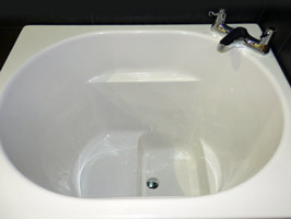 The bengoi bath japanese deep soaking tub free 7 colour for How deep is a normal bathtub