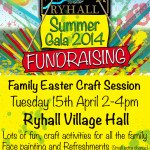 Ryhall Gala Fundraising Craft Session