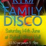 Ryhall Gala Fundraising Family Disco