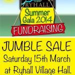 Ryhall Gala Fundraising Jumble Sale