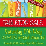 Ryhall Gala Fundraising Tabletop Sale