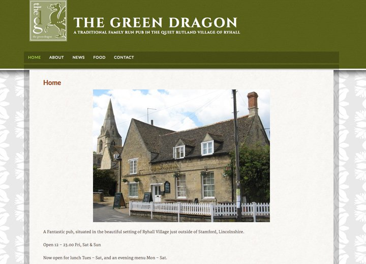 The Green Dragon Ryhall