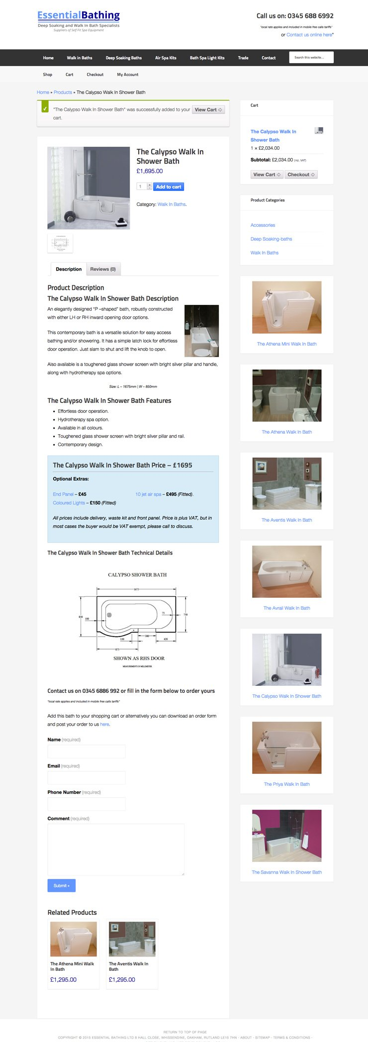 Essential Bathing LTD 3 by Rutland Web 2014
