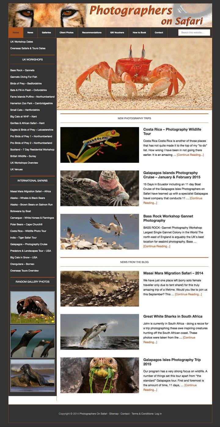 Photographers On Safari Rutland Web