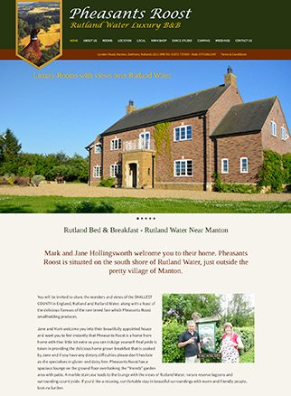 Pheasents Roost Rutland Bed & Breakfast ft