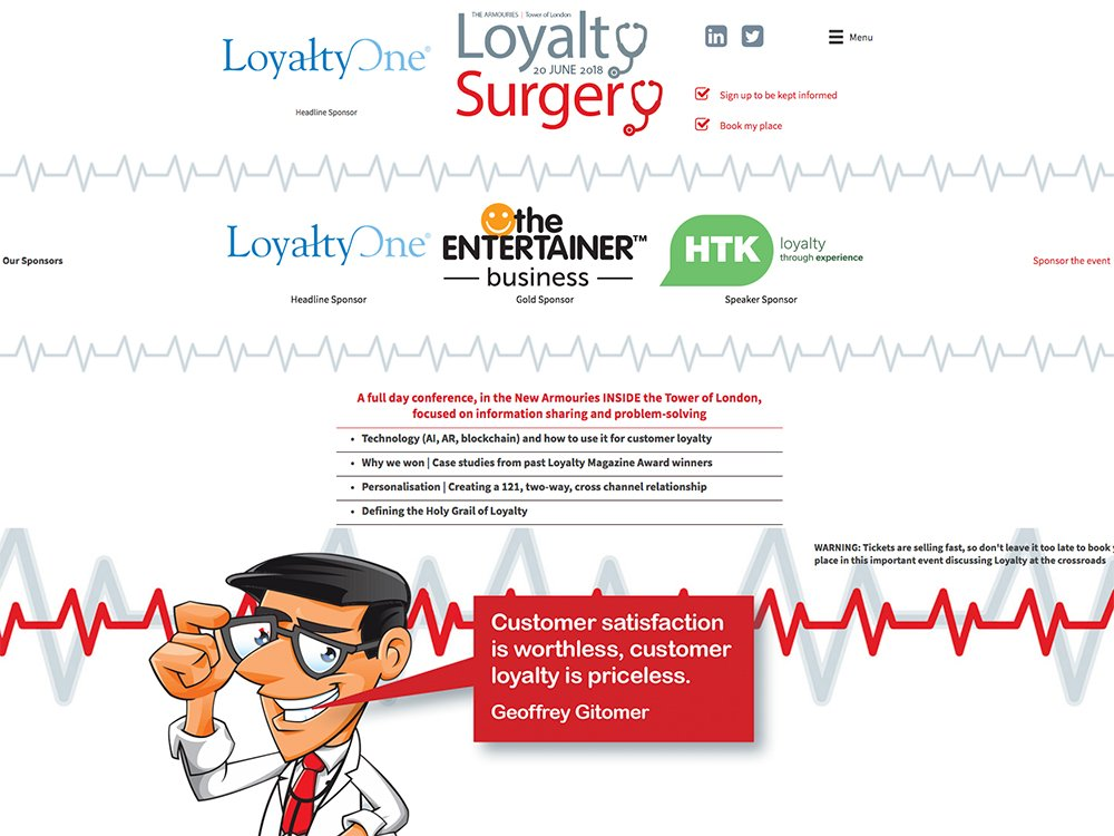 The Loyalty Surgery Website